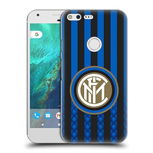 - Official Inter Milan Home 2018/19 Crest Kit Hard Back Case for Google Pixel XL