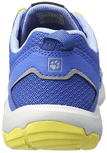 Jack Wolfskin Monterey Air Low W, Zapatillas de Deporte Exterior para Mujer Azul (Cool Water)
