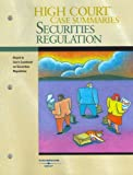 High Court Case Summaries on Securities Regulation (Keyed to Cox, 5th), West, Thomson, 0314180729