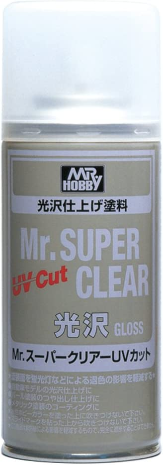 Amazon Com Mr Super Clear Uv Cut Gloss Spray Toys Games