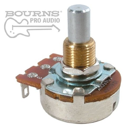 Bourns Guitar & Amp Potentiometer, 25K Audio, Solid Shaft