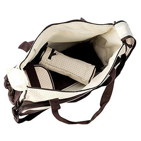 Braun LATH.PIN 5tlg Babytasche Set Pflegetasche Tragetasche Wickeltasche Kinder Baby Windeltasche