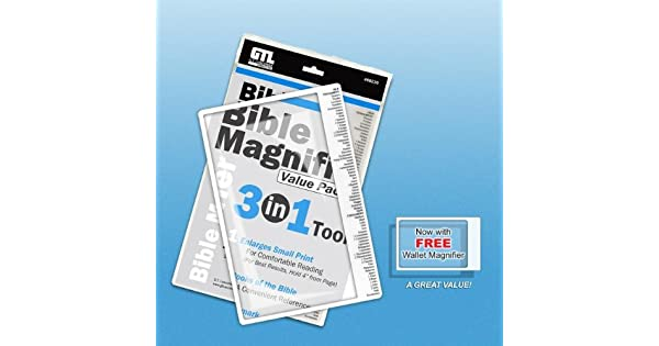 Amazon.com: Biblia Lupa 3 en 1 valor P: G T Luscombe: Office ...