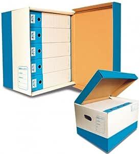 Cartotecnica Ticino caja Idea Baúl de cartón: Amazon.es: Oficina y papelería