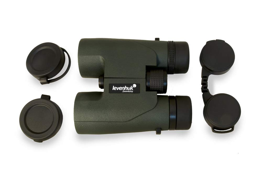 Levenhuk Karma PRO 16×42 Compact Roof Prism Binoculars with Completely Waterproof and Fogproof Body