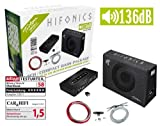 Hifonics Triton Tbp 800.4 4 Channel Bass Package Complete With Amplifier And Cable Set