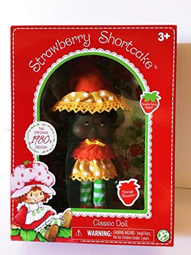 (HappyPierrot Nib Strawberry Shortcake Orange Blossom Classic Doll 1980s Retro Vintage Design)