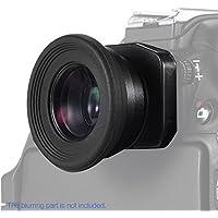 Andoer 1.51X Fixed Focus Viewfinder Eyepiece Eyecup Magnifier for Canon Nikon Sony Pentax Olympus Fujifilm Samsung Sigma Minoltaz DSLR Camera w/ 2 Eyepatch