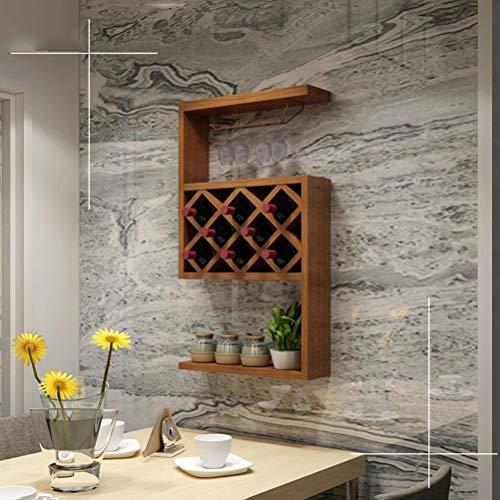 Polymer Storage Racks Shelf Wine Rack Wall Hanging Restaurant Wall Wine Cabinet Living Room Wine Rack Wine Cellar Household Wine Rack Hanging -