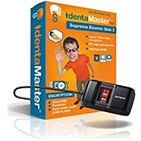 IdentaMaster Biometric Security Software with Suprema BioMini Slim 2 Fingerprint Reader / Encryption, PC Login for Windows 7/8/10