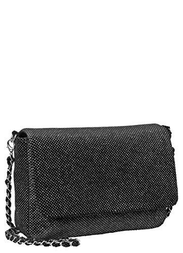 Becksöndergaard Dream Dot Damen Handtasche / Schultertasche / Umhängetasche mit Riemen Maße 25 x 20 x 8 cm (B x H x T): Farbe 010-Black