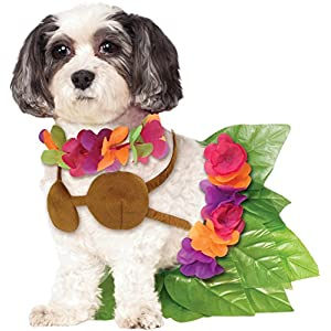 Rubie's Hula Girl Pet Costume, Medium