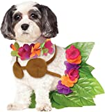 Rubie's Hula Girl Pet Dog Costume, Medium Halloween Costume for Dogs