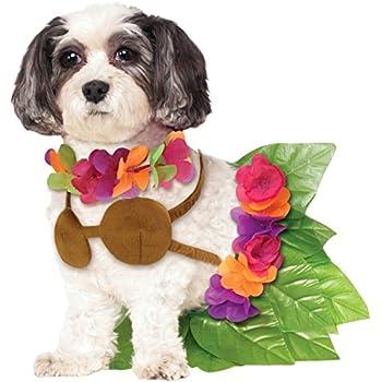 Rubies Costume Company Hula Girl Pet Costume, Large