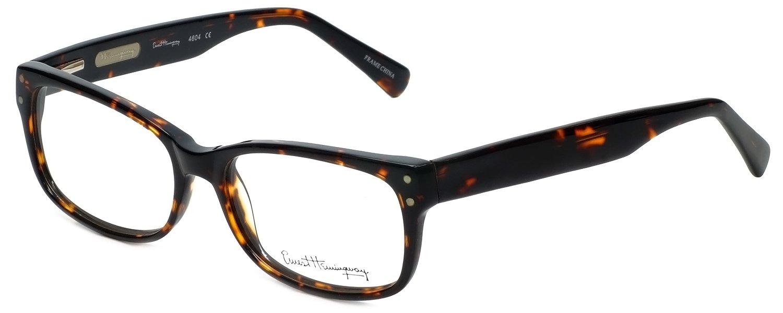 Ernest Hemingway 4604 Designer Reading Glasses in Tortoise +0.50