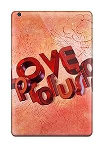 Premium Love Profusion Back Cover Snap On Case For Ipad Mini 2