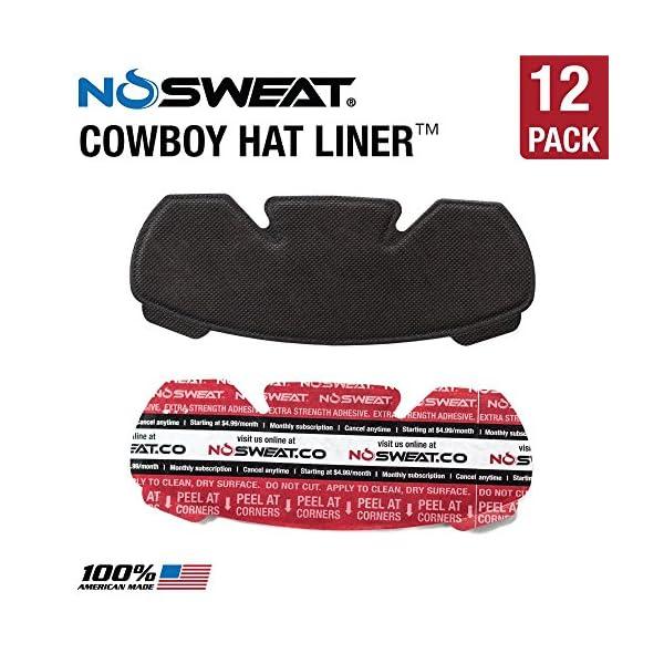 121341f3e6062 No Sweat Cowboy Hat   Riding Helmet Liner – Moisture Wicking ...