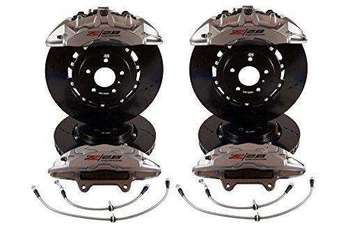 RacingBrake x Brembo Camaro Z28 Big Brake Kit 6/4 POT Front and Rear for Camaro 5 & 6