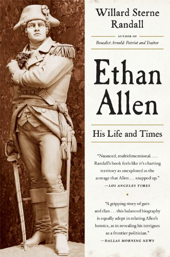 Ethan Allen: His Life and Times cover