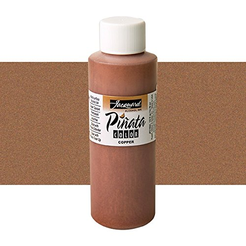 Pinata Metallic Copper Alcohol Ink That by Jacquard, Professional and Versatile Ink That Produces Color-Saturated and Acid-Free Results, 4 Fluid Ounces, Made in The USA by Jacquard