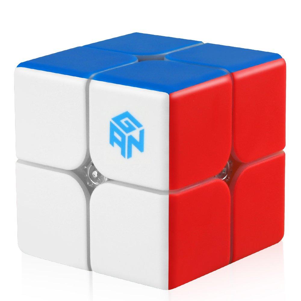 D-FantiX Gan 249 V2 2x2 Speed Cube Stickerless Gan 2x2 Magic Cube Puzzle Toy AM-TG486 49mm