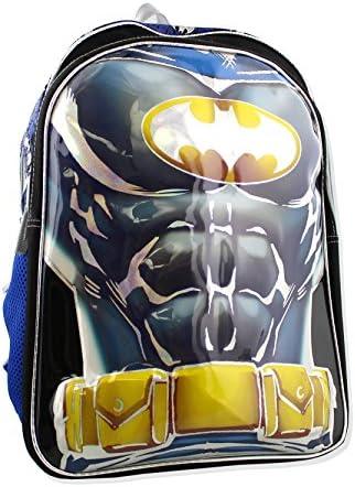 Batman 3D Molded 16 inch Backpack 16 Inch, Blue Black