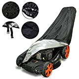 Lawn Mower Cover - UV and Water Resistant Push Mower Cover with Durable 210D Oxford Material+Extra PVC Coating, Lawnmower Cover Universal Fits Push Mowers