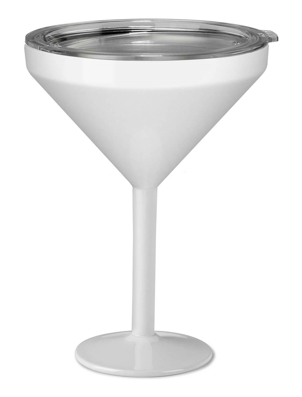 True North Insulated Martini Glass (Beach White)