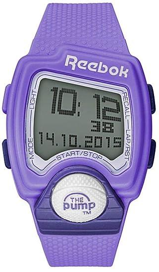 Reebok RC-PLI-G9-PCPC-MT - Reloj Digital para Mujer (42 mm, Correa de Silicona), diseño de orquídea y Violeta: Amazon.es: Relojes