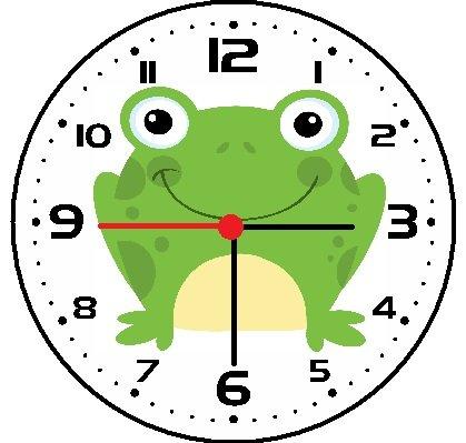 Frog Wall Clock (Frog Clock)