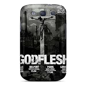 Samsung Galaxy S3 Ddg16297upcP Customized Colorful Godflesh Band Pattern Excellent Hard Phone Cases -AlissaDubois