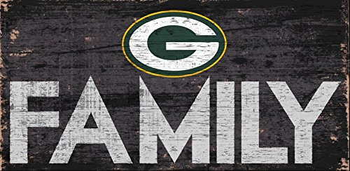 Fan Creations Green Bay Packers Family Sign, Multicolored