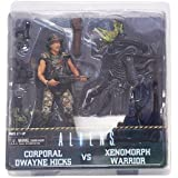 ALIENS Hicks vs. Xenomorph Warrior Alien 2-Pack