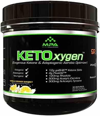 MPA Supps Ketoxygen, BHB Salts, Exogenous Ketone Supplement