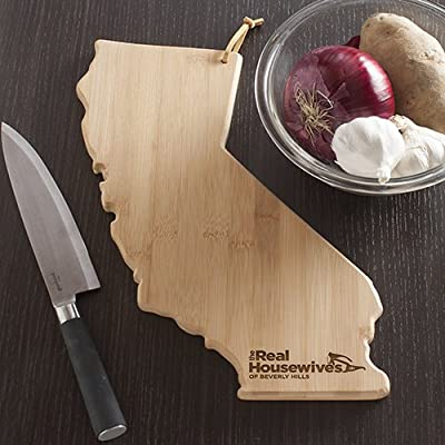 The Real Housewives of Beverly Hills - California Shaped Cutting Board