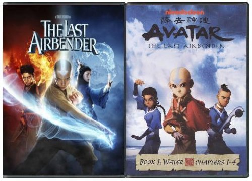 The Last Airbender / Avatar Book 1: Chapters 1-4 LIMITED EDITION 2 DVD Set (Avatar The Last Airbender Animated Series Episodes)