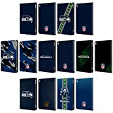 Official NFL Seattle Seahawks Logo Leather Book Wallet Case Cover For Apple iPad Pro 10.5 (2017)