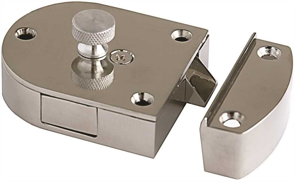 Major Secret Gate Latch - 2'' x 2-1/2'' (Aluminum)