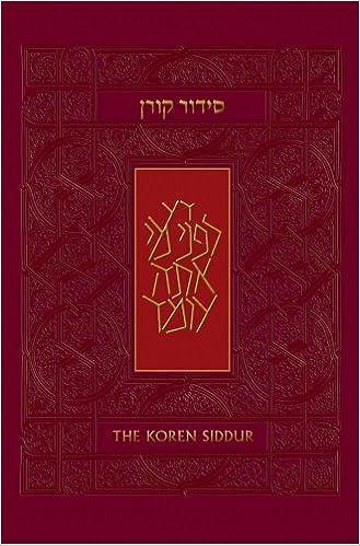 Koren Sacks Siddur, Nusah Sepharad, Compact, HC (Hebrew and English Edition)