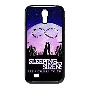 Mystic Zone Sleeping with Sirens Hard Cover Case for Samsung Galaxy S4 Back Fit Cases SGS1151