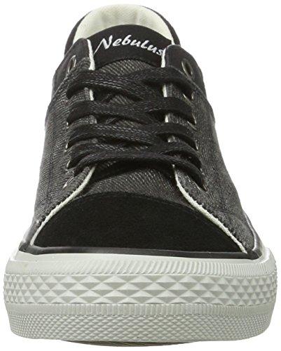 007 Nero Speed Nebulus schwarz Sneaker Donna ApUTHq