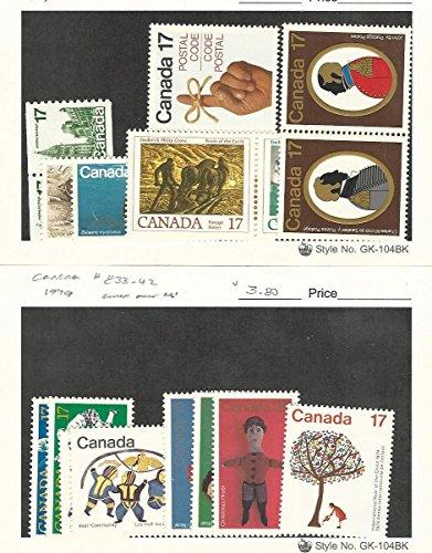 p, 806-813, 833-842 Mint NH, 1979 ()