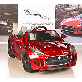 50797a36056 BIG TOYS DIRECT Jaguar F-Type 12V Electric Kids Ride On Car with RC Remote