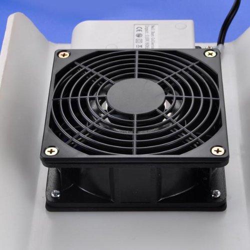 Manicure & Pedicure Dust Suction Vacuum Fan (WHITE)