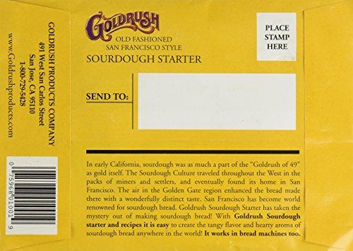 Gold Rush Old Fashioned San Francisco Style Sourdough Bread Starter