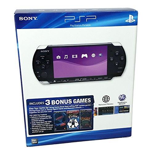 Sony Computer Entertainment PSP Console Bundle (Cars 2, Secret Agent Clank, Pixel Junk Monsters Deluxe)