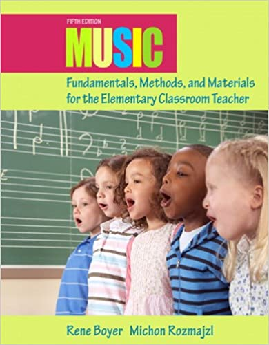Music Fundamentals, Methods, and Materials for the