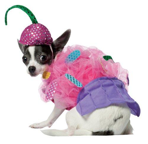 [Rasta Imposta Cupcake Dog Costume, X-Small] (Hot Dog Baby Costumes)