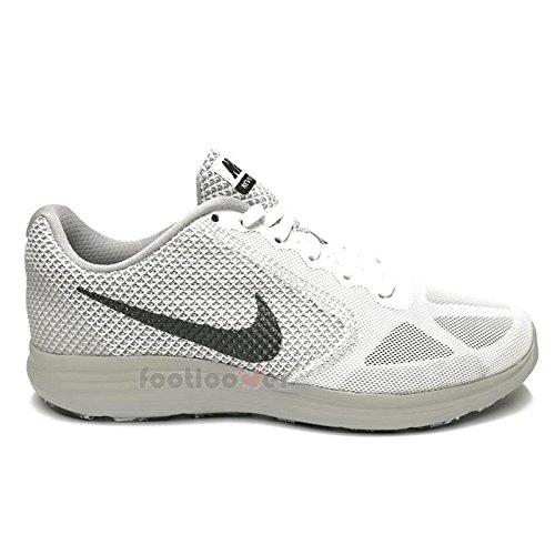 Schuhe Nike Revolution 3 Sneakers 819300 102 Running Herren White running uomo