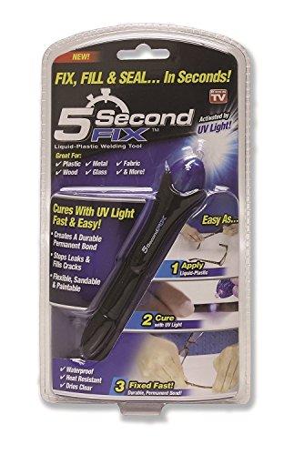 JIASTONE 5 Second Fix Quick & Easy DIY UV Activated Liquid Plastic Bonding...
